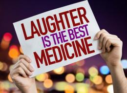 Laughter may be the best medicine, but only if we titrate it to effect